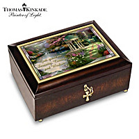Thomas Kinkade Serenity Prayer Music Box