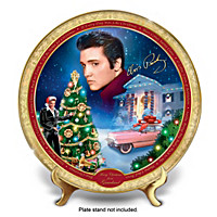 Elvis Presley Merry Christmas From Graceland Collector Plate