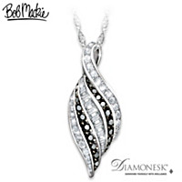 Bob Mackie Night And Day Diamonesk Pendant Necklace