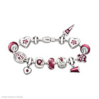 Go Aggies! #1 Fan Charm Bracelet