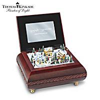 Thomas Kinkade Holiday Memories Music Box