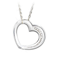 My Granddaughter, Have I Told You Lately Diamond Necklace