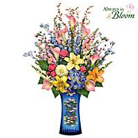 Monet's Artistic Impressions Table Centerpiece