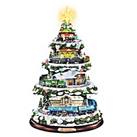 Heritage Christmas Train Tabletop Tree