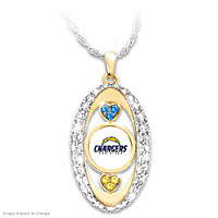For The Love Of The Game San Diego Chargers Pendant Necklace