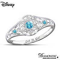 Disney FROZEN Enchanted Snowflake Ring