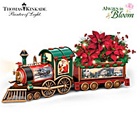 Thomas Kinkade Spirit Of The Season Train Sculpture