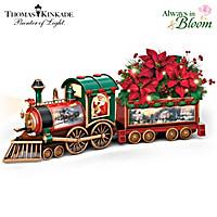 Thomas Kinkade Spirit Of The Season Train Sculpture