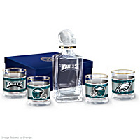 Philadelphia Eagles Decanter Set