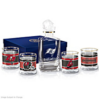 Tampa Bay Buccaneers Decanter Set