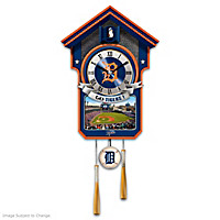 Detroit Tigers Cuckoo Clock