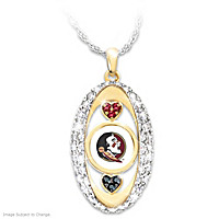 For The Love Of The Game Florida State Pendant Necklace
