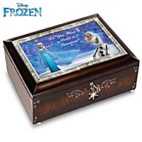 Disney FROZEN Do You Want To Build A Snowman Music Box