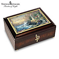 Thomas Kinkade Light Of The World Music Box