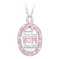 Strength In Hope Pendant Necklace