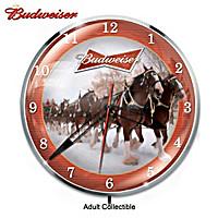 Budweiser Wall Clock