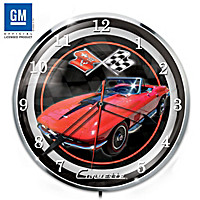 1967 Corvette Sting Ray Wall Clock