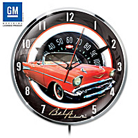 1957 Chevrolet Bel Air Wall Clock