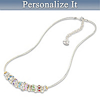 Family Celebration Personalized Necklace