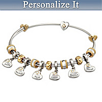 Unconditional Love Personalized Bracelet