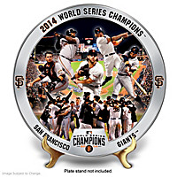 2014 World Series San Francisco Giants Collector Plate