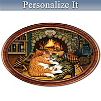 Purr-fect Pair Personalized Collector Plate