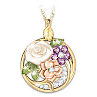 Miracle Blossoms Pendant Necklace