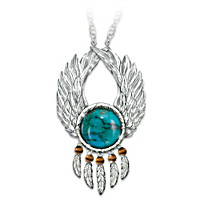 Let Your Dreams Soar Pendant Necklace