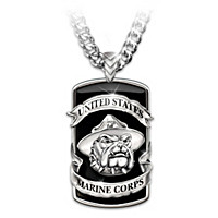 Devil Dogs Pendant Necklace