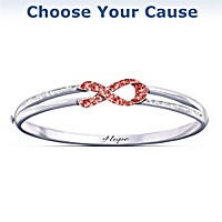 Ribbon Of Hope Bracelet