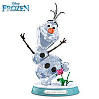 Disney FROZEN Want To Build A Snowman Sculpture