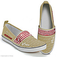 Steppin' Out With Pride 49ers Women's Shoes