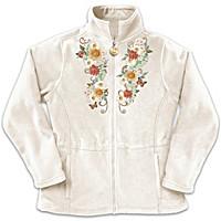 Sunflower Splendor Women's Jacket Size Medium (10-12)