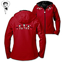 Double The Delight, Betty Boop Women's Jacket