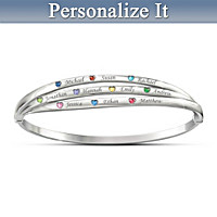 Circle Of Life Personalized Bracelet