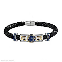 Patriots Super Bowl XLIX Champions Men's Bracelet