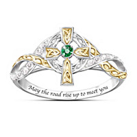 Irish Blessing Diamond Ring