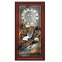 Majestic Flight Wall Clock
