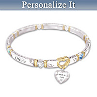 Family Love Personalized Bracelet