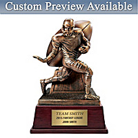 Fantasy Football Trophy Personalized Sculpture