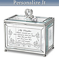 Daughter, You Are Loved Personalized Keepsake Box