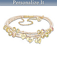 United By Love Personalized Bracelet