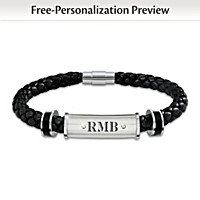 My Son, My Pride, My Joy Personalized Bracelet