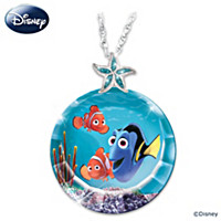 Disney Just Keep Swimming! Pendant Necklace