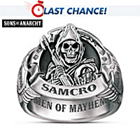 Men Of Mayhem Ring