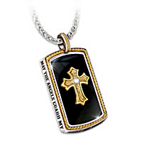 Cowboy's Blessing Pendant Necklace