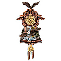 Moments of Majesty Cuckoo Clock