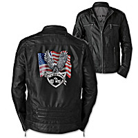 Biker's Blessing Men's Jacket