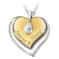 Forever In My Heart Pendant Necklace