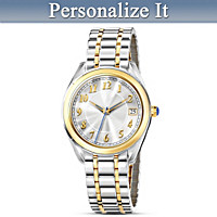 Always And Forever Personalized Men's Watch
